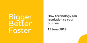 Tech event June 2019