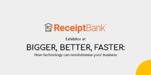 receipt bank exhibitor